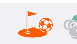 Fussball Golf Parcour